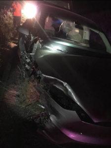 テスラモデルX横転事故07012016