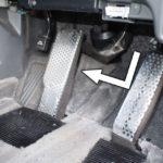 大野式左足ブレーキ装置
