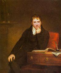 イギリスの初代男爵ハンフリー ダービー卿(Sir Humphry Davy, 1st Baronet)