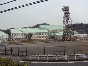 現在の住友重工浦賀造船所(浦賀ドック)