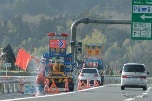 高速道路のガス欠